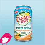New Product Review Club Offer / Club des bancs d'essai : Canada Dry Club Soda Orange-Mandarin
