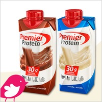 New Product Review Club Offer / Nouvelle Offre du Club des bancs d'essai: Premier Protein Shakes