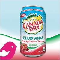 New Product Review Club® offer / Nouvelle offre du Club des bancs d'essai: Canada Dry Club Soda Pomegranate-Cherry