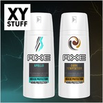 New Offer on XY Stuff / Nouvelle Offre sur XY Stuff : AXE Antiperspirant Dry Spray