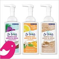 New Product Review Club Offer / Nouvelle Offre du Club des bancs d'essai: St. Ives Shower Foams