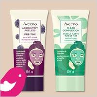 New Product Review Club Offer / Nouvelle Offre du Club des bancs d'essai: AVEENO® Peel Off Face Masks