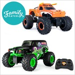 NEW FamilyRated Club offer: Monster Jam Remote Control Trucks