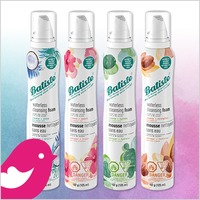 Product Review Club® Offer / Offre Club des bancs d'essai: Batiste Waterless Cleansing Foam