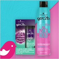 NEW Product Review Club® Offer / NOUVELLE Offre Club des bancs d'essai: göt2b Hair Styling Products