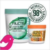 NEW Product Review Club® Offer / NOUVELLE Offre Club des bancs d'essai: Garnier Fructis Hair Treat Masks