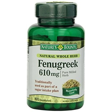 Natures Bounty Natural Whole Herb Fenugreek