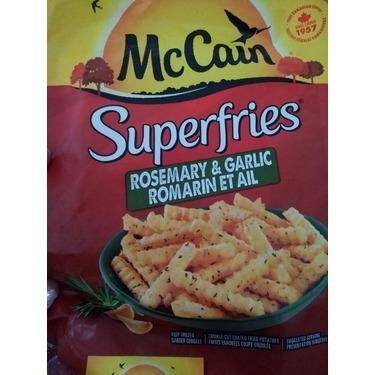 McCain Superfries Rosemary and Garlic