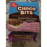 Lady Sarah: Choco Bits White Chocolate Dipped Cereal Bars