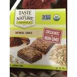 Taste of Nature Oatmeal Cookie Granola Bars