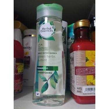 Herbal essance detox shampoo mint and herbs