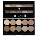 W7 10 out of 10 Eye Shadow Palette, Browns