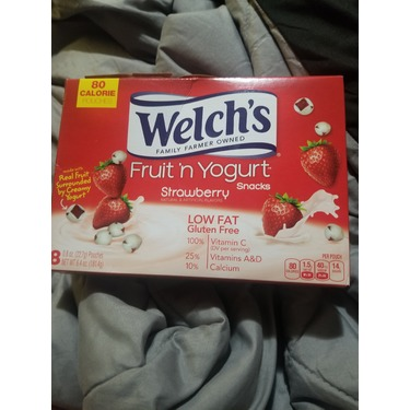 Welch's Fruit 'n Yogurt Snacks