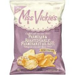 Miss Vickie's Parmesan & Roasted Garlic Chips