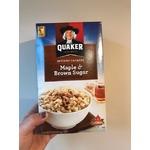 Quaker Instant Oatmeal Maple & Brown Sugar
