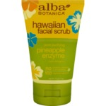 Alba botanica Hawaiian pineapple enzyme face scrub