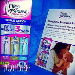 First Response Triple-Check Pregnancy Test Kit (3-in-1)