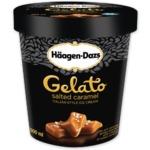 Haagen dazs gelato salted caramel