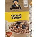 Quackers Cookie and Creme oatmeal