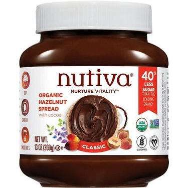 Nutiva, Organic Hazelnut Spread, Classic, 13 oz (369 g)