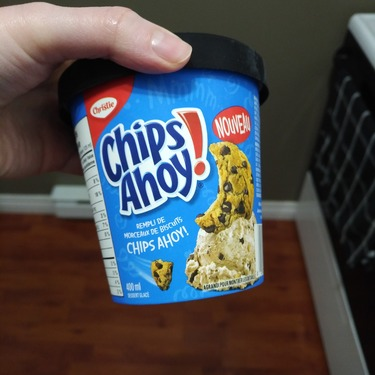 Chips Ahoy Ice Cream