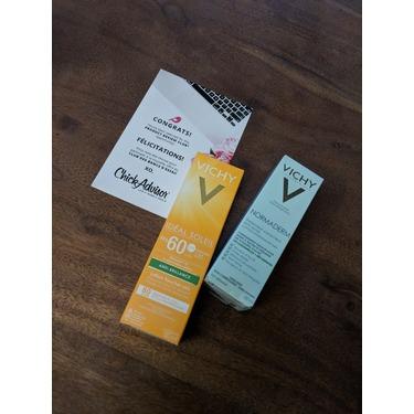 Vichy Idéal Soleil Anti-Shine Dry Touch Lotion SPF 60