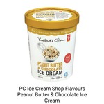 PC ice cream shop flavours peanut butter and chocolate