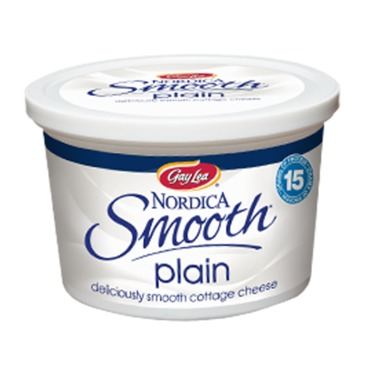 Gay Lea Nordica Smooth Cottage Cheese Plain