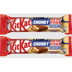 kit kat chunky newyork cheesecake