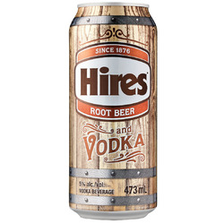 Hires Root Beer and Vodka