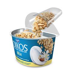 Oikos Mix Vanilla Yogurt Honey-Roasted Almonds and Granola