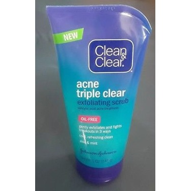 Clean and clear acne wash