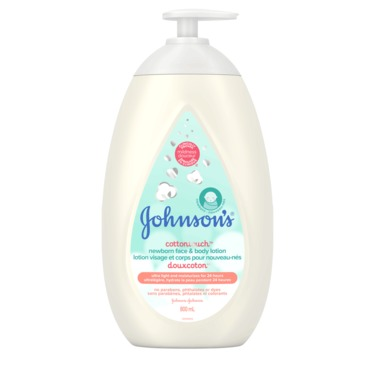 Johnson's® Cottontouch™ Newborn Face & Body Lotion