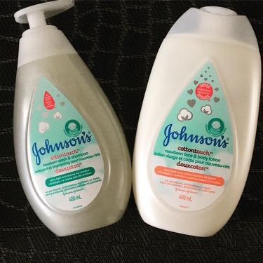 Johnson's® Cottontouch™ Newborn Wash and Shampoo