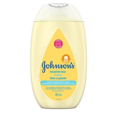 Johnson's® Head-to-Toe® Baby Lotion