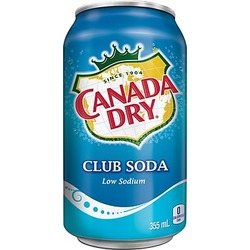 Canada Dry Low Sodium Club Soda
