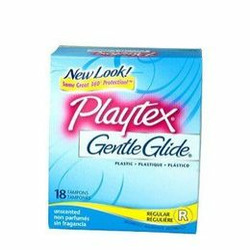 Playtex Unscented Gentle Glide Tampons