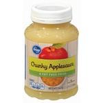 Kroger Chunky Applesauce