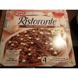 Dr. Oetker Ristorante Pizza Cioccolato