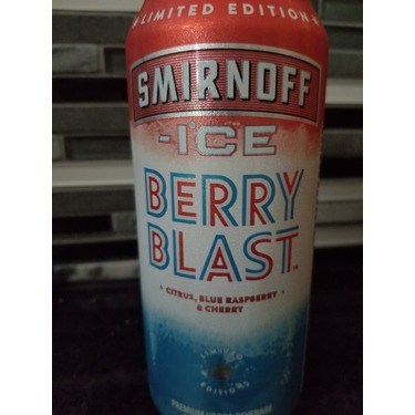 Smirnoff Berry Blast Vodka Cooler