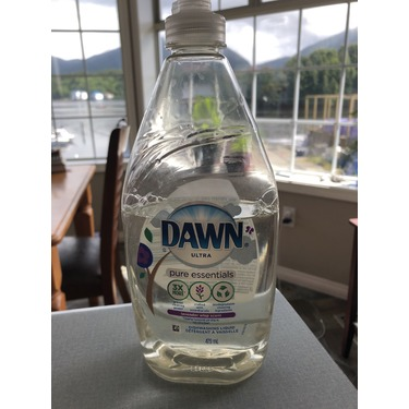 Dawn Pure Essentials Lavender Wisp Scent Dishwashing Liquid