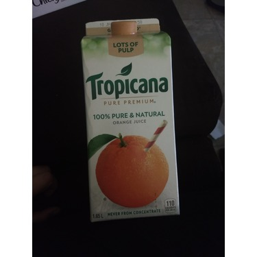 Tropicana pure premium lots of pulp