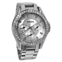 Fossil Riley Silvertone Woman's watch