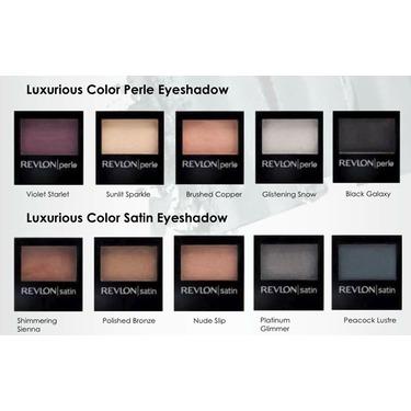 Revlon Luxurious Color Perle Eyeshadow
