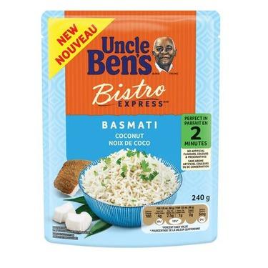 Uncle Ben's Bistro Express Basmati Coconut Rice