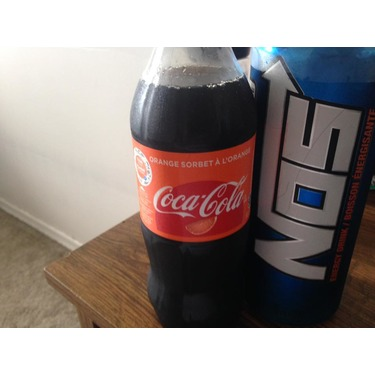 Coca Cola Orange Sorbet