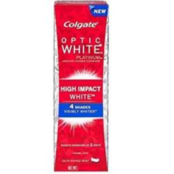 Colgate Optic White Platinum High Impact White Toothpaste