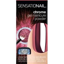 Sensationail Rose Chrome Gel Manicure Powder