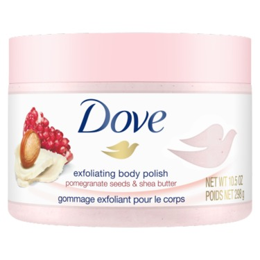 Dove Exfoliating Body Polish Pomegranate Seeds & Shea Butter