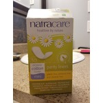 Natracare organic cotton panty lines